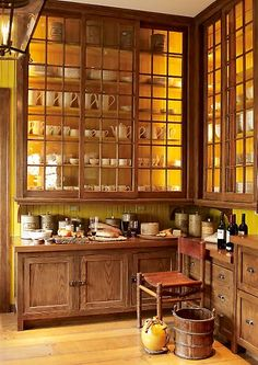 I am loving the cabinets to the ceiling in my kitchen