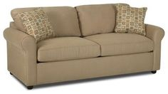 Klaussner - Brighton Sleeper Sofa in Camel Fabric - KL-24900DQSL - contemporary - fabric - salt lake city - by GreatFurnitureDeal