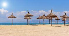 Beach Of Palma De Majorque Island