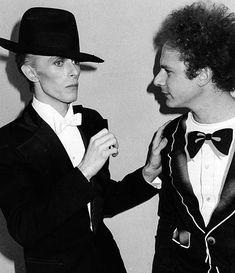 David Bowie and Art Garefunkel