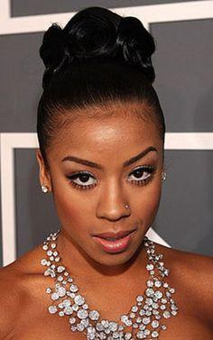 black hairstyles for weddings Celebrity Hairstyles