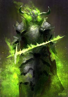 Artist: Conor Burke aka Mac-tire  -  Green -  http://mac-tire.deviantart.com/