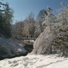 Bear River Recreation Area in Petoskey, Michigan (March 2012)