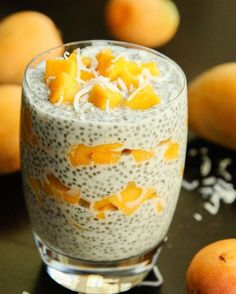 6. Fresh Mango Coconut Chia Seed Parfait #healthy #chiaseed #recipes http://greatist.com/eat/chia-seed-pudding-recipes
