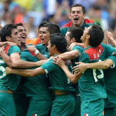 Mexico wins GOLD Men's Soccer 2012 Olympics Mexico 2 Brazil 1. Add Around The Rings on www.Twitter.com/AroundTheRings & www.Facebook.com/AroundTheRings for the latest info on the #Olympics.
