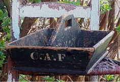 Old Chippy Wooden Tote.