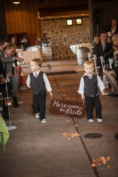 Rustic Here Comes the Bride Sign Ring Bearer Sign Wedding Sign Here Comes the Bride Wood Sign Flower Girl Sign Wedding ideas Flower Girl Signs, Flower Girls, Ring Bearer Signs, Budget Wedding, Wedding Ideas, Wedding Stuff, Wedding 2017, Wedding Crafts, Wedding Album