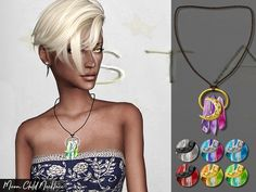 - New Mesh Found in TSR Category 'Sims 4 Female Necklaces'