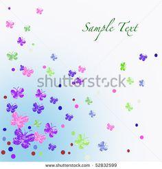 Purple #butterflies in the sky