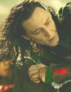 The moment he realized he is LOKI of the fangirls not of his brother's planet