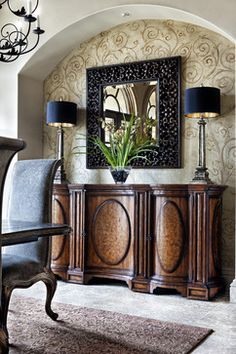 Papeles estampados para dar un toque elegante a tu casa.