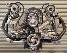 Vocho bug fusca twin turbo - Tap The Link Now To Find Gadgets for your Awesome Ride Vw Turbo, Vw Beach, Beach Buggy, Combi Split, Auto Volkswagen, Vw Baja Bug, Vw Super Beetle, Vw Engine, Diesel Engine