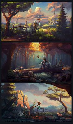 Speedpaints #59 by Sylar113 wizard warlock sorcerer druid ranger panda bear companion beast master staff player character npc castle city landscape location environment architecture | Create your own roleplaying game material w/ RPG Bard: www.rpgbard.com | Writing inspiration for Dungeons and Dragons DND D&D Pathfinder PFRPG Warhammer 40k Star Wars Shadowrun Call of Cthulhu Lord of the Rings LoTR + d20 fantasy science fiction scifi horror design | Not Trusty Sword art: click artwork for…