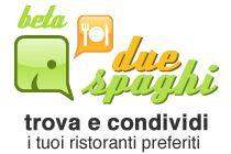 2Spaghi è un social network per trovare e condividere i tuoi ristoranti preferiti. Questo social di recensioni di ristoranti ha portato per primo in Italia la prenotazione online. 2Spaghi è stato ideato nel 2006 da due ragazzi italiani con la passione per la cucina e le serate in compagnia, riversando questi due aspetti su Internet e, in particolar modo, su un sito che proponga tutti i ristoranti e i locali d'Italia, come specificato nel sito stesso. http://www.2spaghi.it