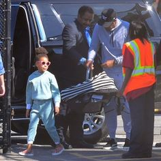 Beyonce and Jay Z step out with Blue Ivy, Rumi and Sir for first time
