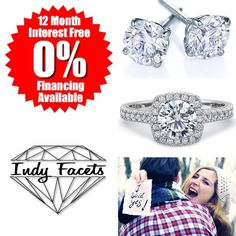 I have some exciting news to announce. At Indy Facets you can now take advantage of our financing options to custom design the ring or jewelry of your dreams! Contact us to get started!! With No Hype, No Pressure, and No Judgement! We make it fun and easy! @indyfacets #indyfacets #carmel #carmelindiana #indy #diamonds #engagementring