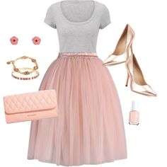 Summer Engagement: For the Bridal Shower by verabradley on Polyvore featuring polyvore, fashion, style, maurices, Chicwish, Charles David, Vera Bradley, Essie, clothing and verabradley