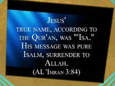"""Rick Warren's use of the name """"Isa"""" the false Jesus of Islam, was a glaring slap in the face to all that he had already prayed. """"Isa"""" in no way represents the Jesus of the Bible but instead the false Jesus of the Qur'an (Koran) and the Muslim Hadith."""