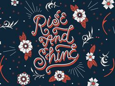Rise And Shine Illustration