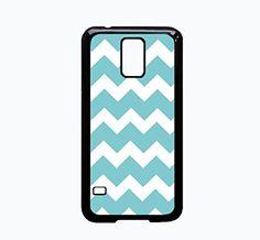 Samsung Galaxy S5 Case - Blue Chevron