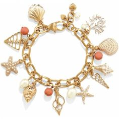 Brighton Coral Fantasy Charm Bracelet  available @ NCH Galleries (866) NCH-2910