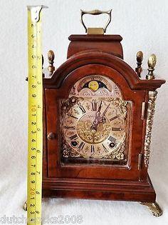 Rare Huge Old 15 English Bracket Clock John Smith London