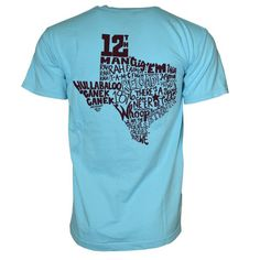 TEXAS A&M TYPOGRAPHY T-SHIRT