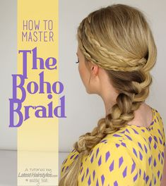 Boho Braid Tutorial by Missy Sue on Latest Hairstyles Basic Hairstyles, French Braid Hairstyles, Trending Hairstyles, Latest Hairstyles, Pretty Hairstyles, School Hairstyles, Hairstyles Haircuts, Medium Hairstyles, Two French Braids