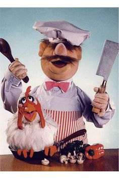 swedish chef   RETRO  poster by JustMemorabilia on Etsy, $7.99