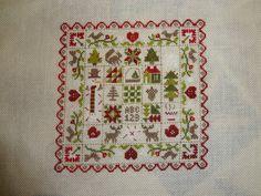 broderies de Noël : épisode 2 (patchwork d'hiver - Jardin Privé)