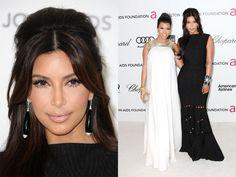 Kim and Kourtney Kardashian are such beauty icons...