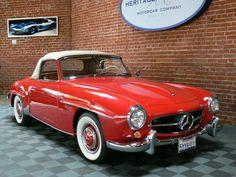1960 Mercedes 190SL $69500