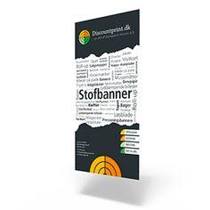 Stofbanner - digitaltryk, leveres i formaterne fra 30x60 til 60x400 cm. kan køres på 110 gr. eller 220 gr. polyester, med mulighed for valg af efterbehandling
