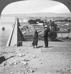 The Aswan Dam An English man and a young Egyptian