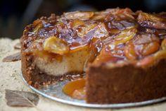 apple pie vegan cheesecake