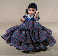 Madame Alexander Carreen O'Hara doll from the Gone With The Wind Scarlett series. She was the youngest of the three sisters.