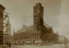 Ratusz Staromiejski  (Rathaus), Toruń - 1902 rok, stare zdjęcia