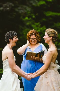 http://www.onabicyclebuiltfortwo.com #gay wedding #love #lesbian couple