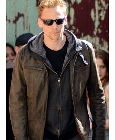The Night Manager Tom Hiddleston (Jonathan Pine) Dark Brown Leather Jacket