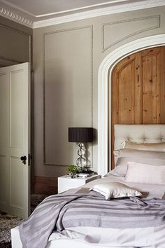 wall panels and bed panel