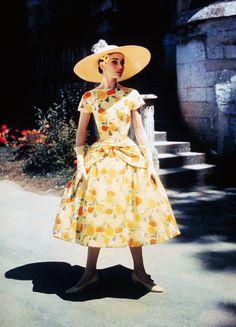 Audrey Hepburn in 'Funny Face', 1957