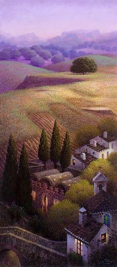 Obras de Luis Romero, pintor español