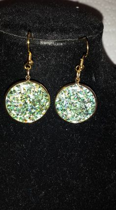 Glittery Earrings $10.00