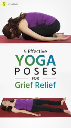 This post talks about the way yoga helps you deal with grief. Would you like to know how? Now, let us find out the best poses in yoga for grief relief.  #yoga