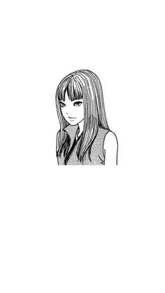 Junji Ito, Aesthetic Art, Aesthetic Anime, Japanese Horror, Gothic Anime, Poses References, Black White Art, Creepy Art, Kawaii Wallpaper