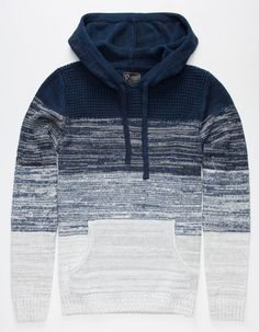 Hoodies for Men & Men's Sweatshirts Mens Fashion Sweaters, Mens Fashion Suits, Cool Outfits, Casual Outfits, Fashion Outfits, Men's Fashion, Sweater Jacket, Men Sweater, Ombre Sweater