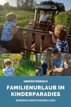 Urlaub in Österreich ist immer etwas Besonderes: Gutes Essen, glasklare Seen, herzliche Menschen. Wir waren heuer auf einem Bauernhof im oberösterreichischen Entdeckerviertel und haben die Region erkundet: Hier findest du die wärmsten Badeseen in Oberösterreich, die größte Moorlandschaft Österreichs und das modernste Zweiradmuseum Europas. Wenn das kein Grund ist deinen Familienurlaub in Oberösterreich zu verbringen?   #einerschreitimmer #urlaubmitkindern #familienurlaub #urlaubambauernhof 2 Kind, Firewood, Aquarium, Crafts, Sister Love, Childhood Education, Family Vacations, Kid Birthdays, Aquarium Fish Tank