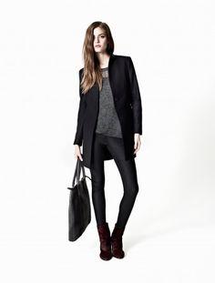 Aleggro coat & Galaxy pullover