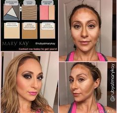 Highlight and Contour with Mary Kay! Call me to order your kit! 403-708-1861 www.marykay.ca/liming