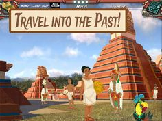 Mayan Mysteries, iPad, Free  Solve puzzles, gather clues and solve the mystery to catch the thief in this social studies app. Users explore the ancient Maya culture in this hands-on archaeological adventure as they compete to reach a mythical city. The game features 8 real Maya sites, 25+ challenging puzzles, 200+ Maya topics for exploration, puzzles https://itunes.apple.com/us/app/mayan-mysteries/id582762699?mt=8